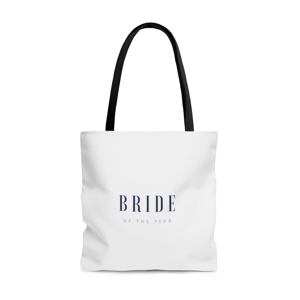 Bride of the Year Tote Bag - Crystal Flower