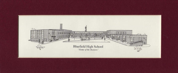 Bluefield High School prints (c) 2021 Robert E Duff Sr - duffcreations.com