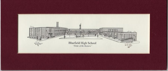 Bluefield High School Prints duffcreations.com (c) 2020 Robert Duff Sr