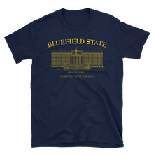 Bluefield State College  - T-shirt  - Standard - Conley Hall (yellow/gold imprint)