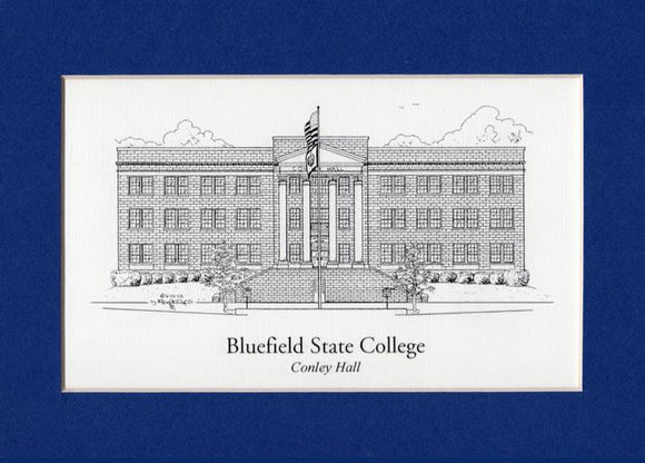 Bluefield State College  (c) 2019 Robert E Duff Sr - duffcreations.com