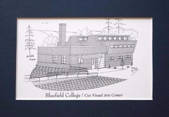 Bluefield College  - Cox Visual Art Center print duffcreations.com (c) 2020 Robert Duff Sr