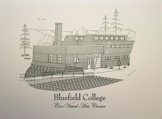 Bluefield College Cox Visual Art Center print duffcreations.com (c) 2020 Robert Duff Sr
