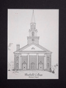 Bluefield College  - Harman Chapel  (c) 2019 Robert E Duff Sr