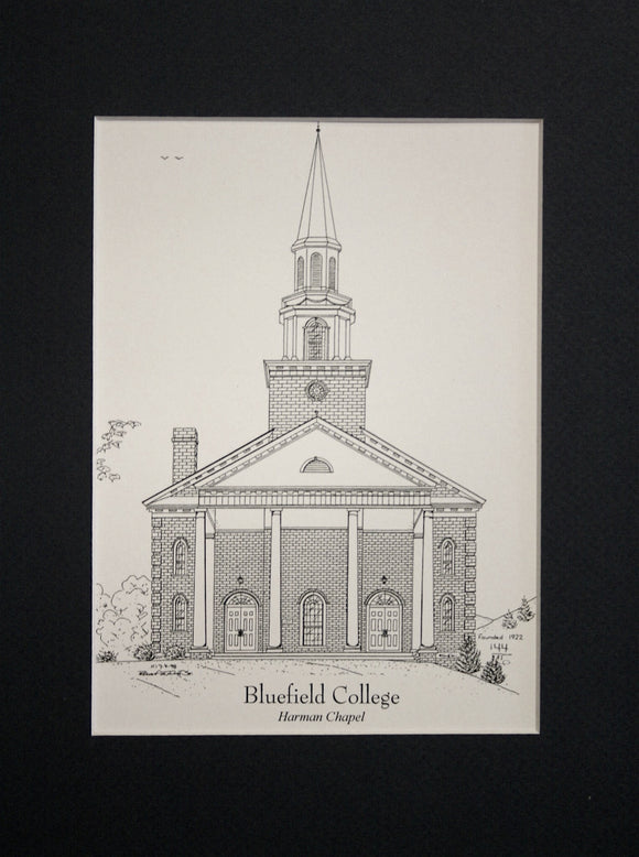 Bluefield College  - Harman Chapel