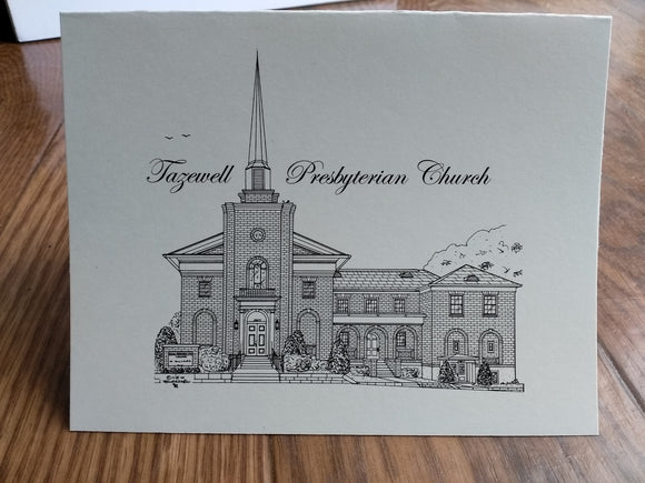 Tazewell Presbyterian Church note cards (c) 2019 Robert Duff Sr. duffcreations.com (c) 2020 Robert Duff Sr