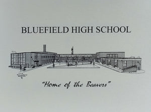 Bluefield High School note cards (c) 2021 Robert E Duff Sr - duffcreations.com