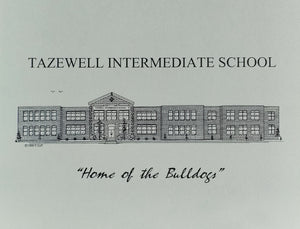 Tazewell Intermediate School Note Cards (c) 2021 Artist: Robert Duff, Sr.