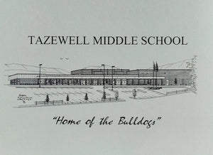 Tazewell Middle School Note Cards (c) 2021 Robert Duff Sr - duffcreations.com