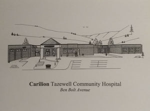 Carilion Tazewell Community Hospital note cards (c) 2021 Robert E. Duff, Sr. duffcreations.com