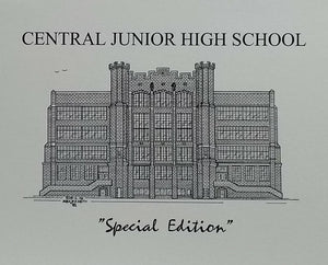 Central Junior High School note cards (c) 2021 Robert E Duff Sr - duffcreations.com