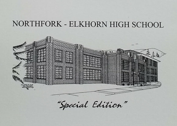 Northfork - Elkhorn High School note cards (c) 2021 Robert E Duff Sr duffcreations.com