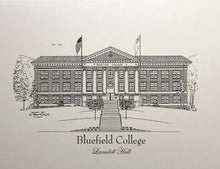 Bluefield College Lansdell Hall Note Cards