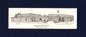 Montcalm High School print (c) 2021 Robert E Duff Sr - duffcreations.com