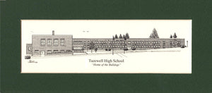 Tazewell High School (c) 2020 Artist: Robert Duff, Sr.