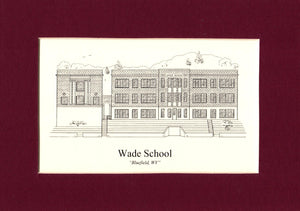 Wade School print (c) 2021 Robert E Duff Sr  - duffcreations.com