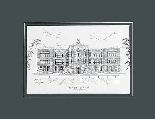 Big Creek High School Prints - Choose from  (3) Sizes
