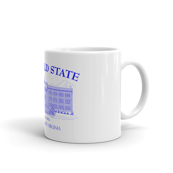 Bluefield State College mug duffcreations.com (c) 2020 Robert Duff Sr