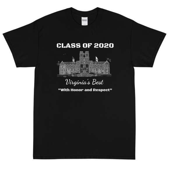 Virginia Tech Short-Sleeve T-Shirt Class of 2020 Burruss Hall
