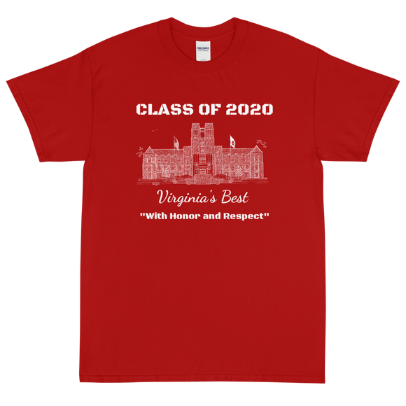Virginia Tech T-shirt Class of 2020 - (c) 2020 Artist: Robert Duff Sr