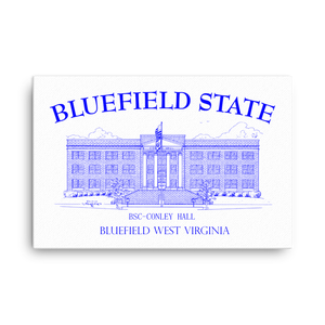 Bluefield State College Canvas - Blue