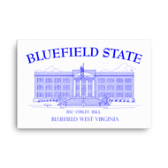 Bluefield State College canvas duffcreations.com (c) 2020 Robert Duff Sr