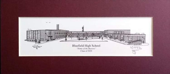 Bluefield High School (c) 2020 Robert E Duff