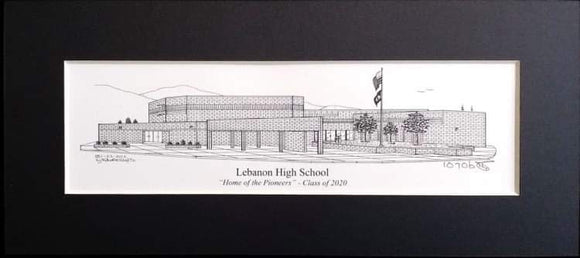 Lebanon High School (c) 2020 Artist: Robert Duff, Sr.