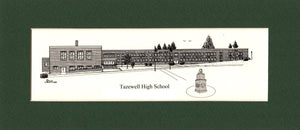 Tazewell High School Print (c) 2021 Robert E Duff Sr - duffcreations.com