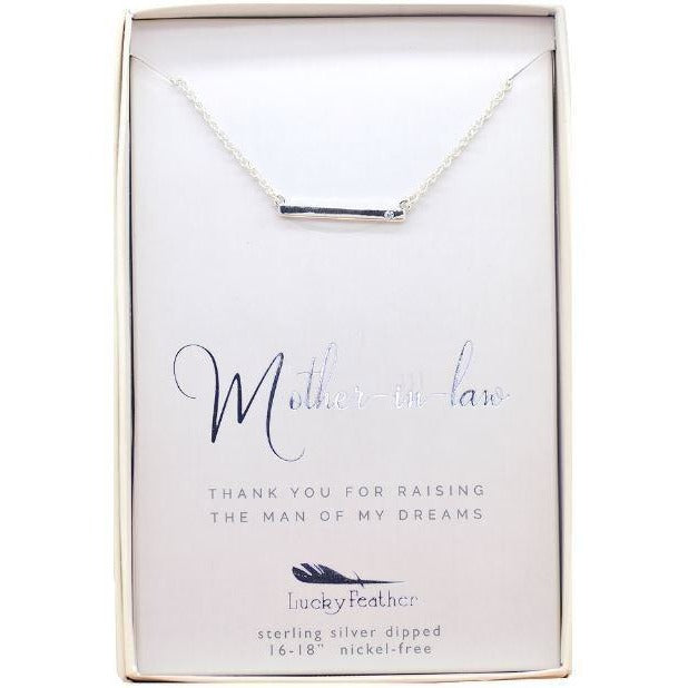 MAN OF MY DREAMS Necklace for Mother of the Groom