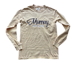 MURRAY STATE Calligraphy Font Comfort Colors T-Shirt