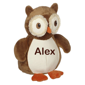 OLIVER OWL BUDDY Plush Animal with Personalization