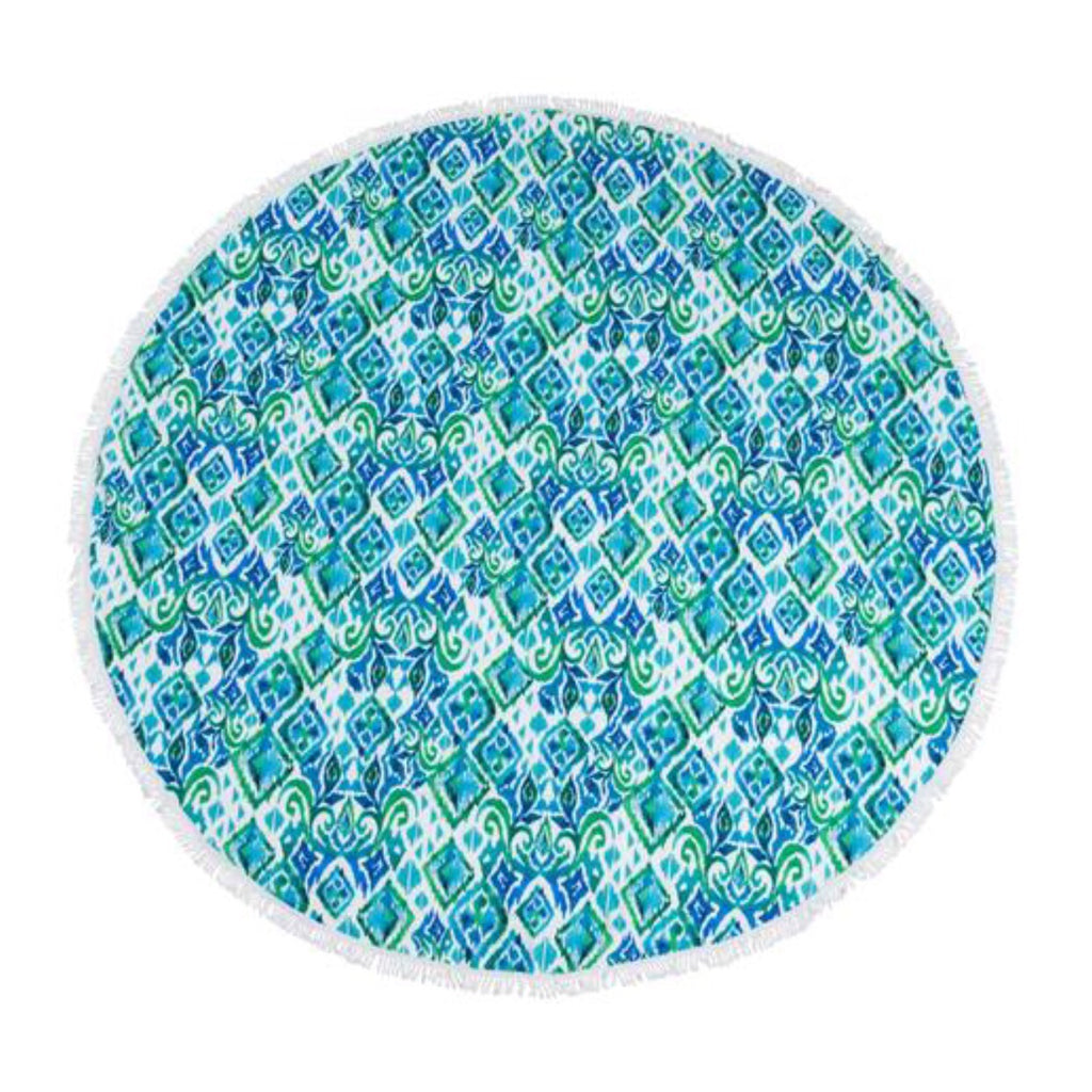 HAMPTON Round Beach Towel—20% OFF!