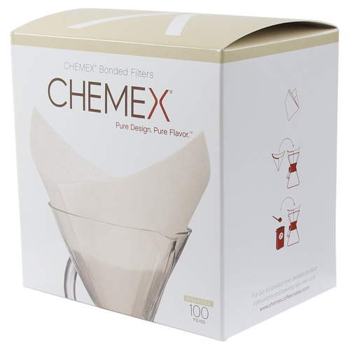 Chemex Prefolded Square Filters - Pack of 100