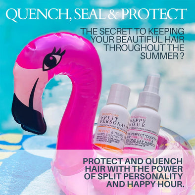 Big Kizzy Hair Quench Seal Protect Sunscreen for Your Hair