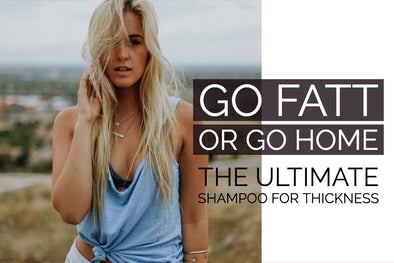 The Ultimate Shampoo For Thickness and Hair Extensions