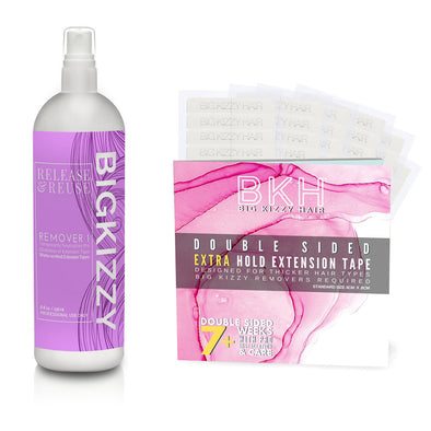 Big Kizzy Tape in Hair Extension Remover 1 & Extra Hold Tape