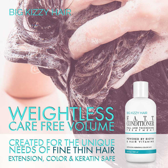 FATT Volumizing Thickening Biotin Extension Shampoo Conditioner 3