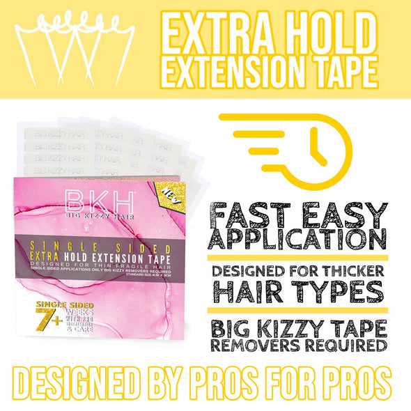 Best Single Sided Hair Extension Tape