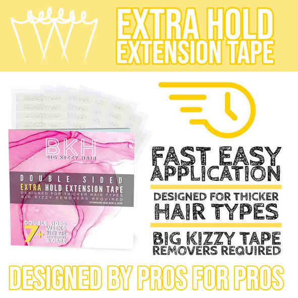 Big Kizzy Hair Extension Extra Hold Tape