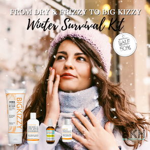 Winter Hair Survival Kit - How to Fix Dry Hair in the Winter