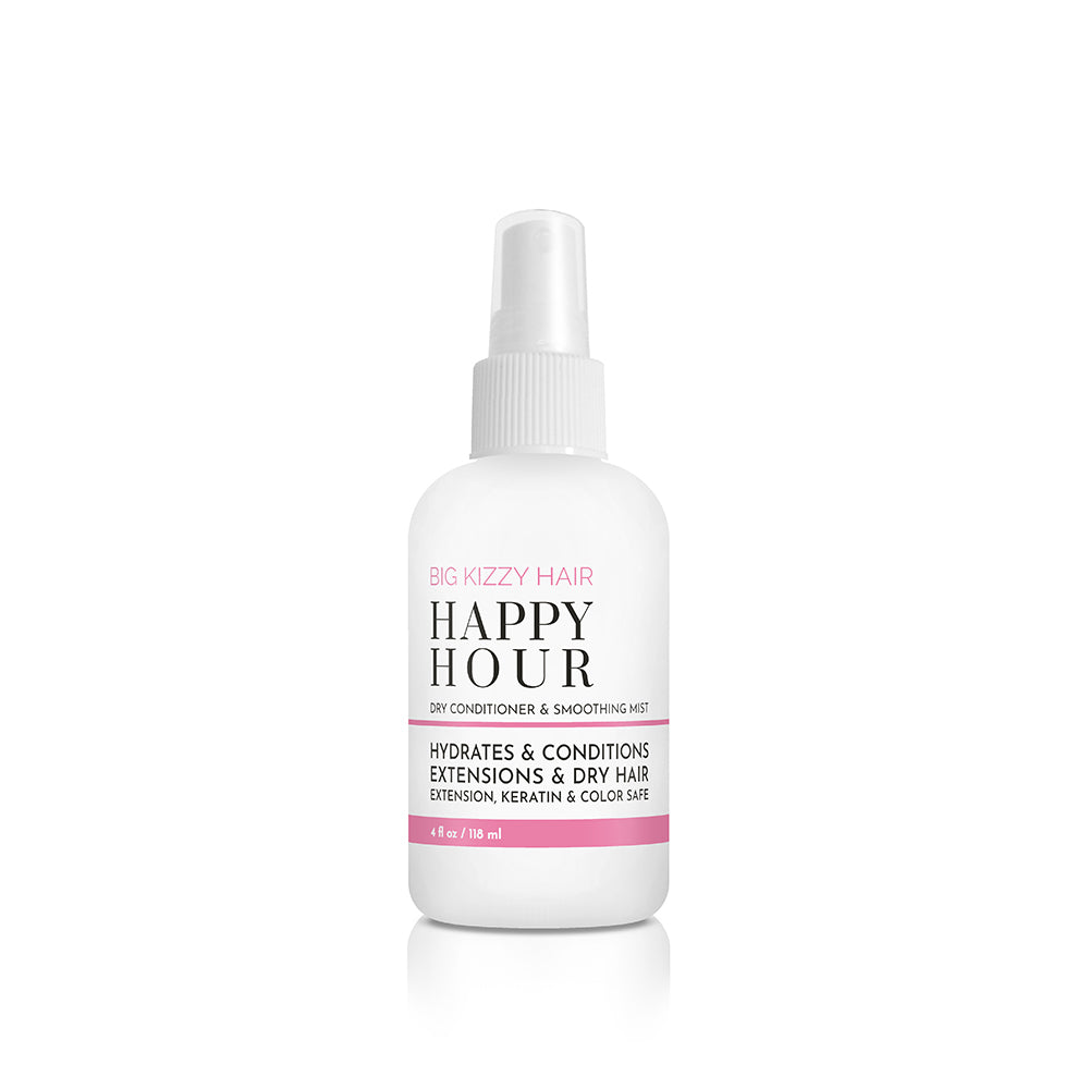 Happy Hour Dry Conditioner Quenches Thirsty Dry Ends Big Kizzy Hair