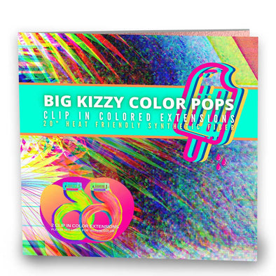 Big Kizzy Color Pops - Clip in Extensions