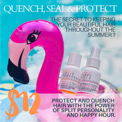 Split Personality + Happy Hour Sunscreen for your hair Bundle $12