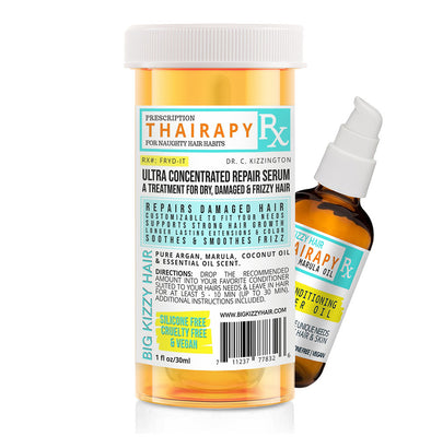 Big Kizzy Thairapy Hair Oil - Repair Treatment for Dry Damaged Hair