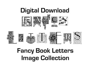 Vintage fancy book letters collection digital download 68 vintage fancy book letters collection digital download 68 digitally remastered fancy book letters images altavistaventures Images