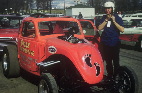 Bill Smith, Otie's Automotive Fiat Topolino, Nostalgia Drag Racing, Vintage Racing