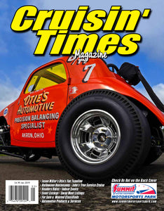 Otie's Automotive Fiat Topolino featured in Cruisin' Times Magazine - January 2019