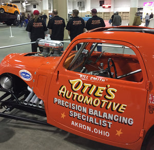 Otie's Automotive Nostalgia Drag Racing, Fiat Topolino Tribute Build, Hot Rod Asylum Dirty Dozen 2017
