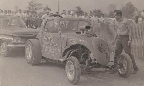 Otis Smith 1962 Nationals, Bill Smith,  Driver of Otie's Automotive Fiat Topolino
